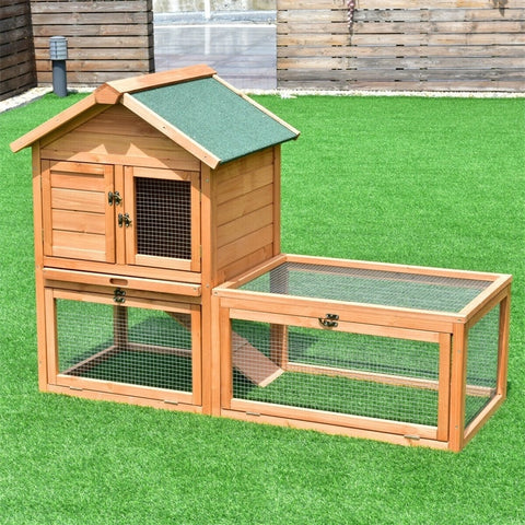 "56"" Wooden Chicken Coop (3 to 4 hens)"