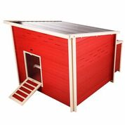 New Age Pet Jumbo Fontana Chicken Barn for 10-12 hens (Red)