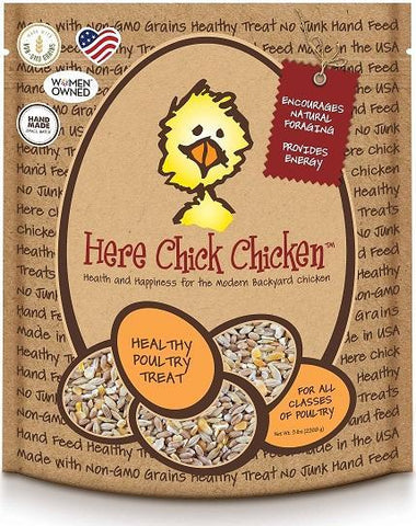 Treats for Chickens - Here Chick Chicken - That Chicken Coop