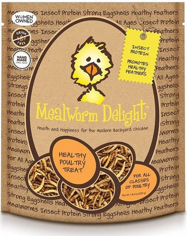 Treats for Chickens - Mealworm Delight - That Chicken Coop