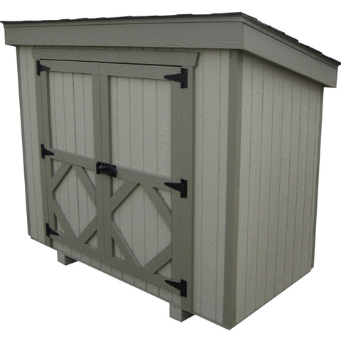 Waste Can Shed by Little Cottage Co - That Chicken Coop