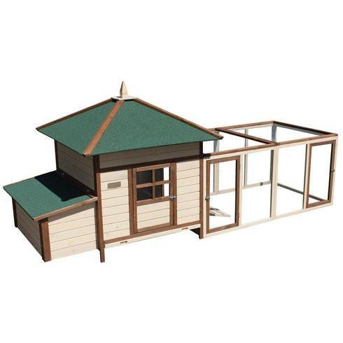 Advantek Large Prairie Home Chicken Coop (4-6 hens) - That Chicken Coop