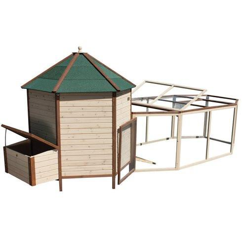 Advantek Large Tower Coop with Run (4-6 hens) - That Chicken Coop