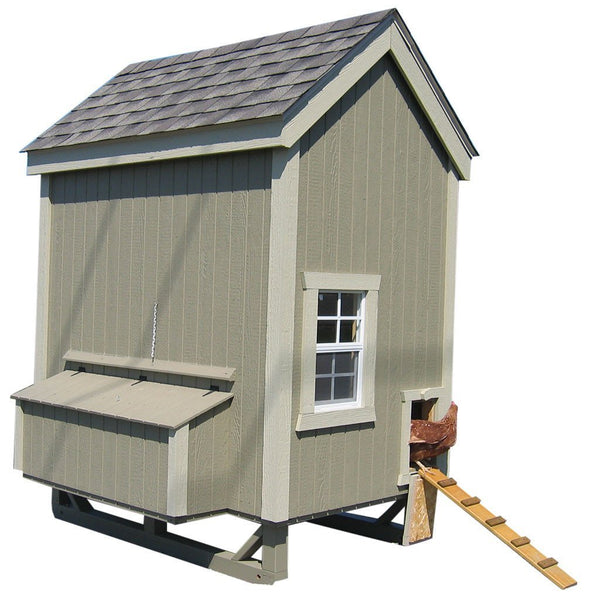 Little Cottage Co 4x6 Colonial Gable Coop (6-8 hens) - That Chicken Coop