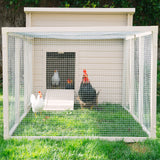 New Age Pet ecoFLEX Jumbo Fontana Chicken Pen - That Chicken Coop