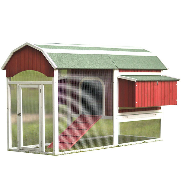 Prevue Pet Products Large Red Barn Chicken Coop (8-10 hens) - That Chicken Coop
