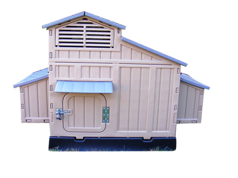 Snap Lock Large Durable Plastic Chicken Coop by Formex (10-12 hens) - That Chicken Coop