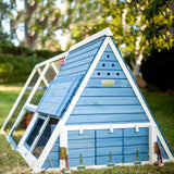 Advantek A-Frame Chicken Coop with Wheels (3-4 hens) - That Chicken Coop