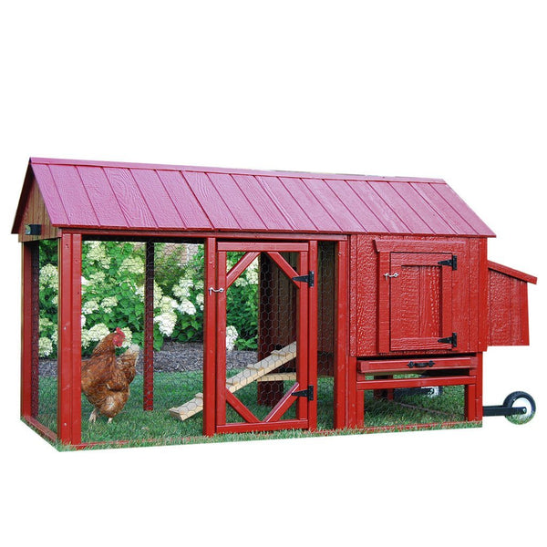 Little Cottage Co Atlanta Coop with Run (2-4 hens) - That Chicken Coop
