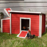 New Age Pet EcoChoice Fontana Red Chicken Barn (2-4 hens) - That Chicken Coop