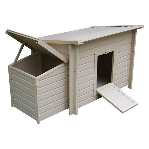 New Age Pet ecoFLEX Fontana Chicken Barn (2-4 hens) - That Chicken Coop