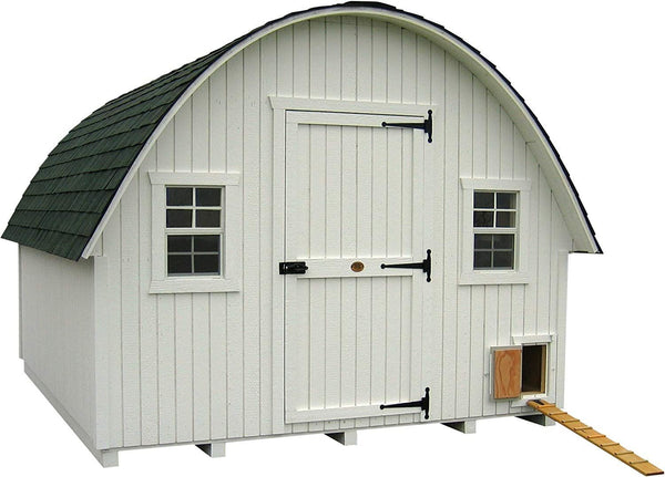 Round Roof Chicken Coop by Little Cottage Co.