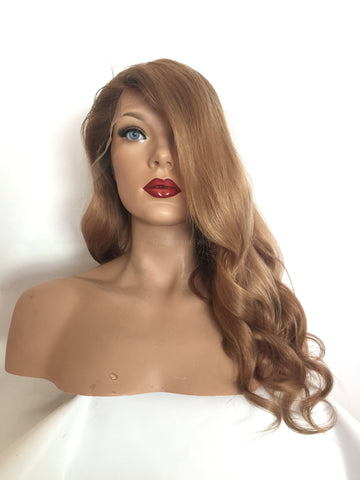 Praline Brown Full Lace Wig - Laurie