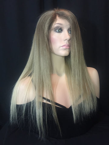 Natural Blonde Balayage Full Lace Wig - Hadley