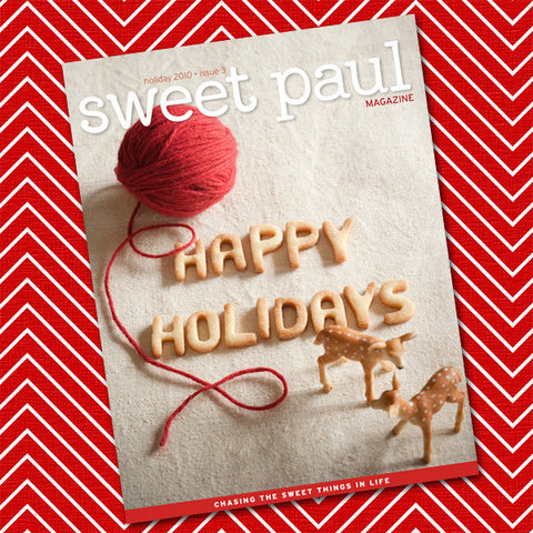 Sweet Paul Magazine - #3 Holiday/Winter 2010 - Instant Download PDF File