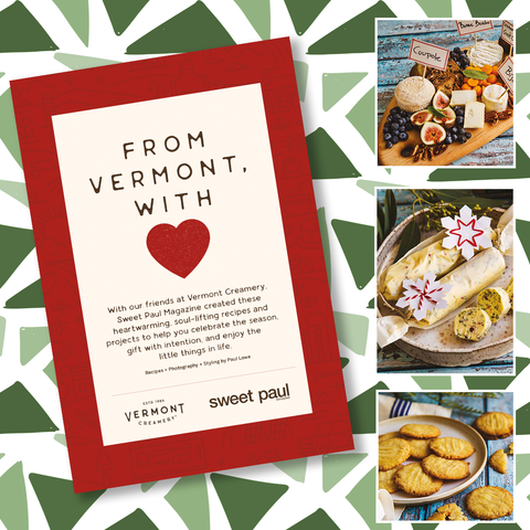 Sweet Paul Magazine & Vermont Creamery - Holiday 2020 - Instant Download Digital File