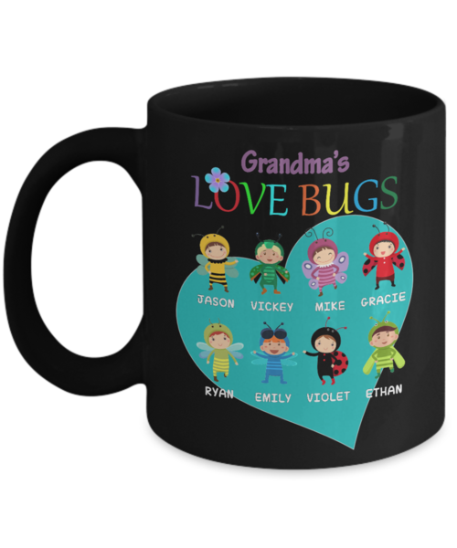 Gift Your Grandma a Personalized Mug with your Pictures