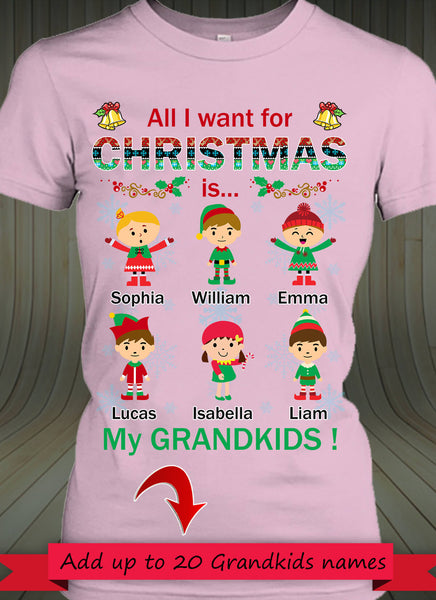 All I want for my Christmas