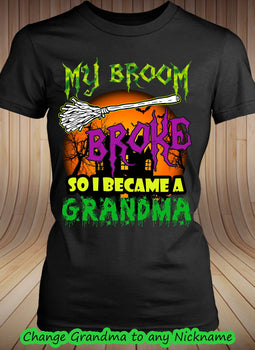 Broom Broke