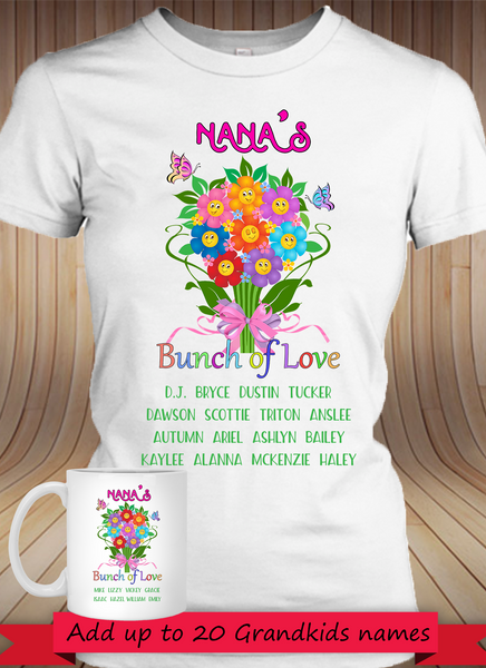 BUNDLE  Bunch Of Love! with 11oz Mug - Gifts4family