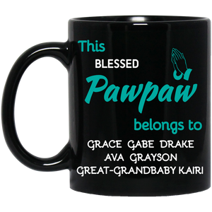 Blessed Grandpa! Mugs - Gifts4family