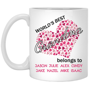 World's Best Grandma!! Mugs - Gifts4family