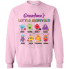 Little Monsters! White/Pink Hoodie/Sweatshirt - Gifts4family