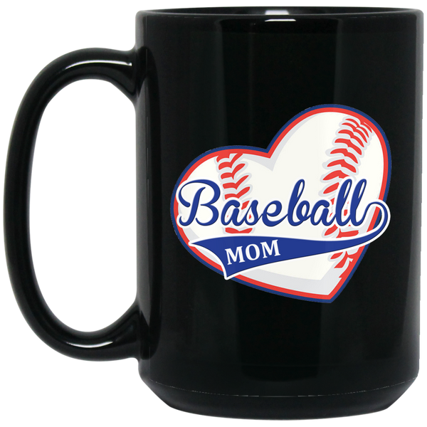 Baseball MOM - Heart MUGS - Gifts4family