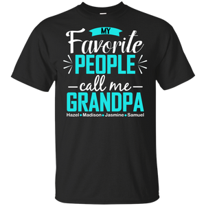 Grandpa Personalized T-shirts Hoodie Sweatshirts