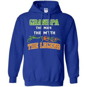 Grandpa Man Myth Legend -Hoodie/Sweatshirt - Gifts4family