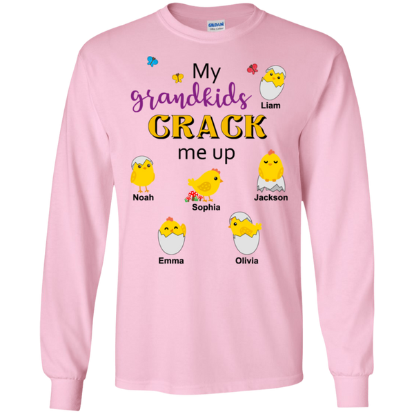 Crack me up-Easter design