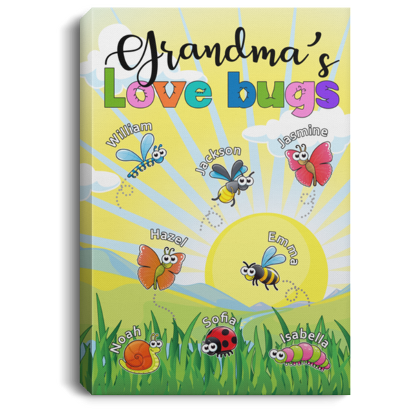 Canvas Love Bugs-2019