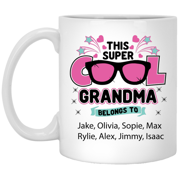 This Super Cool Grandma!! Mugs - Gifts4family