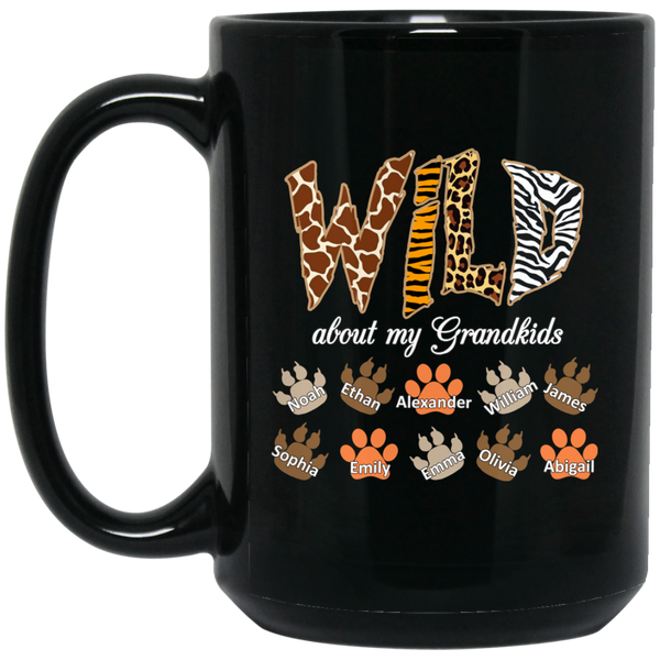 Wild Grandma - Mugs - Gifts4family