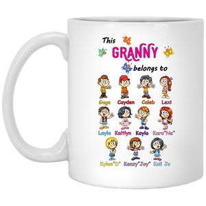 Grandma Belong To!! Mugs - Gifts4family