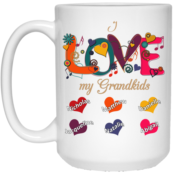 LOVE my grandkids - Mugs