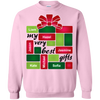 Grandparent's Gift-box Personalized Hoodie Sweatshirts