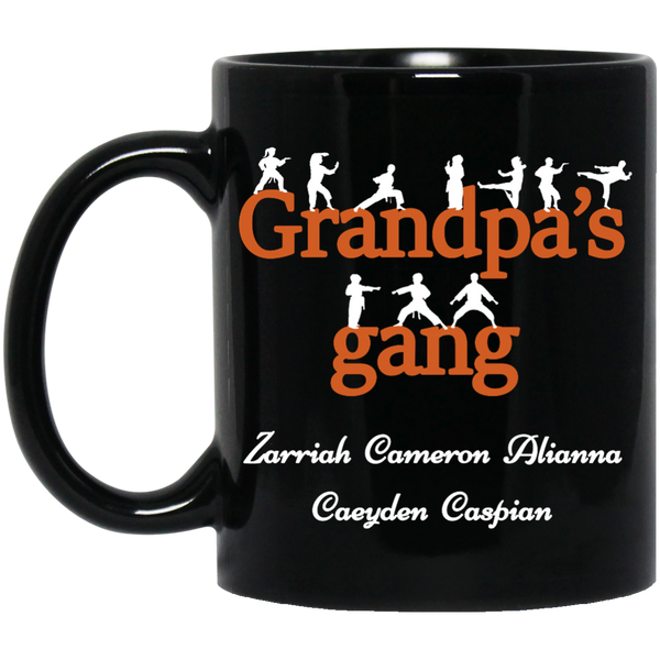 "Grandpa's Gang !! Mugs *Limited Time FREE SHIPPING* Add ""ANY"" NICKNAME Like Pawpaw, PAPA ETC - Gifts4family"