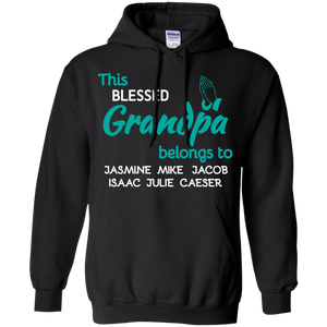 Blessed Grandpa! Hoodie/Pullovers - Gifts4family