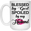Spoiled by my Husband!!!! MUGS - Gifts4family