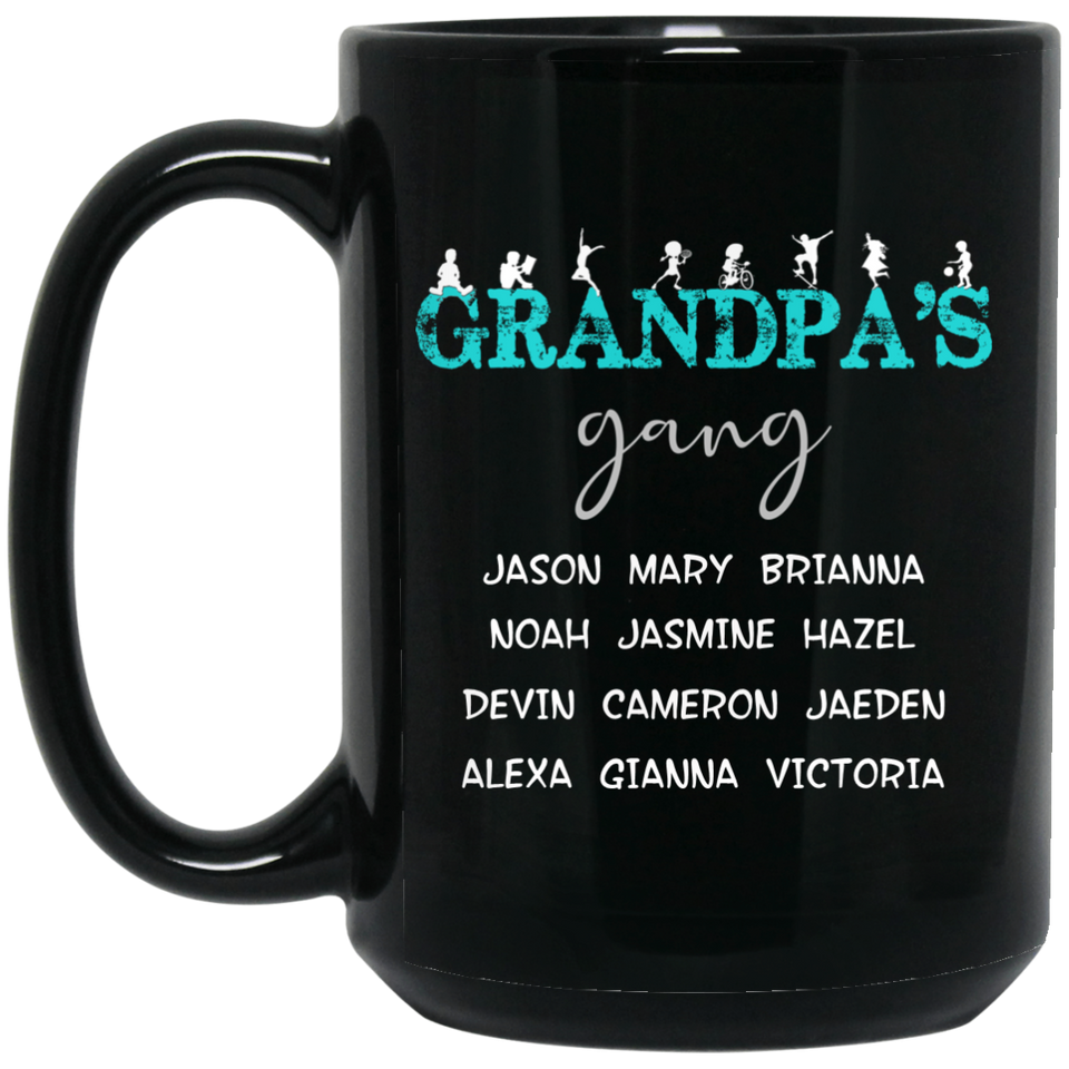 Blue-Grandpa's Gang - Mugs