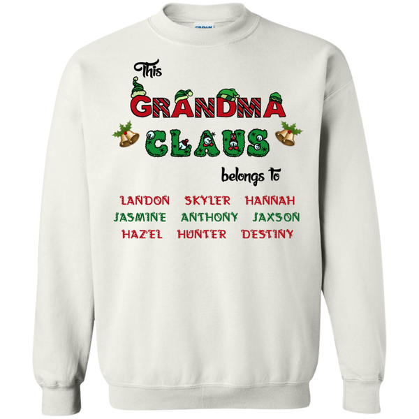☃️ ? Grandma Claus - White/Pink ? ☃️ - Gifts4family