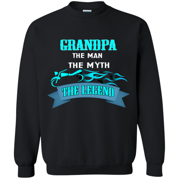 Grandpa Man Myth Legend - Blue - Gifts4family