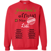 Christmas List Personalized T-shirts Hoodie Sweatshirt