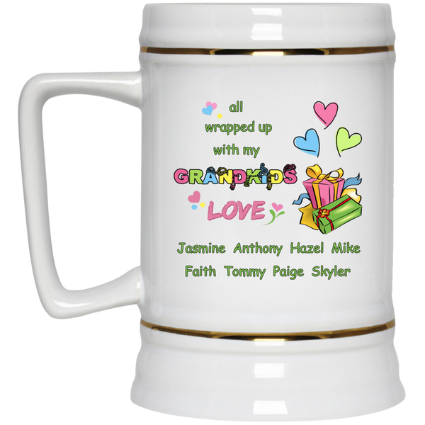 All wrapped with LOVE - MUGS - Gifts4family