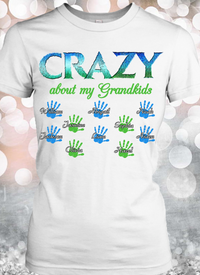 Crazy Grandma Personalized T-shirts Hoodie Sweatshirts