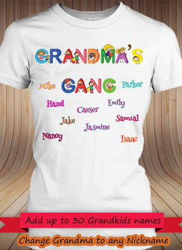 Grandma's Gang!! - Gifts4family