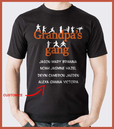 Grandpa's Gang Personalized T-shirts Hoodie Sweatshirts