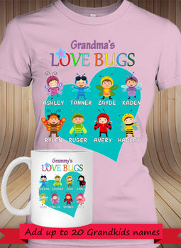 BUNDLE - Love Bugs! with 11 oz MUG - Gifts4family