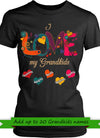 Love My Grandkids Personalized T-shirts Hoodie Sweatshirts